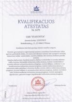 Lietuvos Respublikos aplinkos ministerijos pažymėjimas