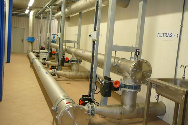 Design, Construction and Reconstruction of Water Treatment Plants.