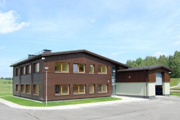 Vandens gerinimo įrenginių projektavimas ir statyba Trakuose.